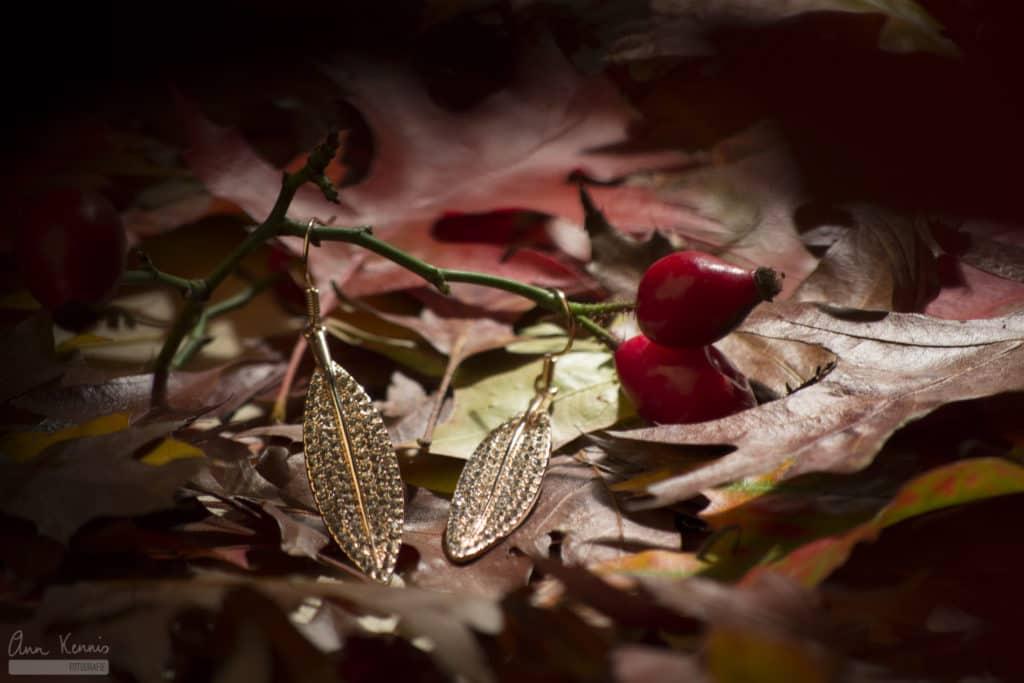 Productfotografie oorbellen door Ann Kennis Fotografie